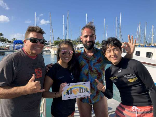 beginner scuba diving Honolulu